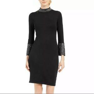 Calvin Klein NWT black sweater dress